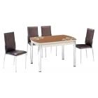 KT 7012-120/K Mutfak Masası Takımı