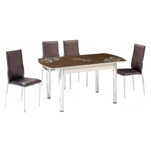 KT 7014-120/K Mutfak Masası Takımı