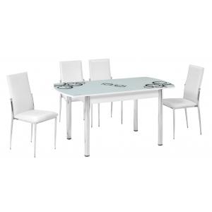 KT 7014-120/W Mutfak Masası Takımı