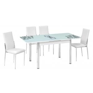 KT 7315-120/W Mutfak Masası Takımı