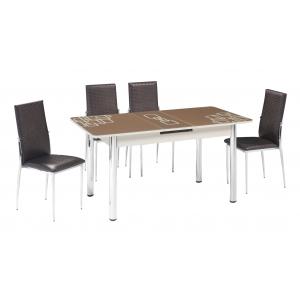 KT 7015-120/K Mutfak Masası Takımı