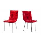 KT 7452 Kırmızı Sandalye